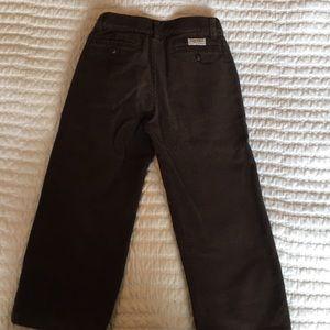 Janie and Jack Brown Corduroy Pants, Size 4